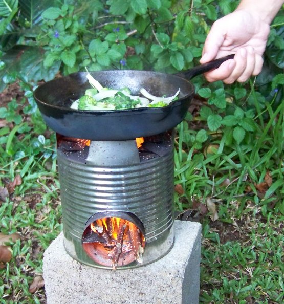 Solar oven vs rocket stove simply simplifying for Tin can rocket stove